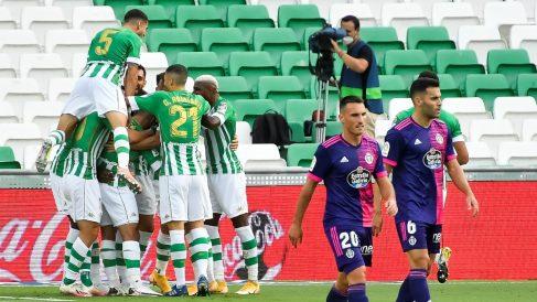 El Betis sumó su segunda victoria en Liga Santander. (EFE)