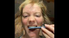 TiKTok: Los dentistas alertan sobre la nueva moda de limarse los dientes en casa