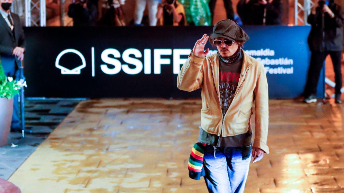 El actor estadounidense Johnny Depp. Foto: EP