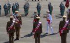 El Rey muestra su «cariño y admiración» a La Legión en el homenaje a su centenario
