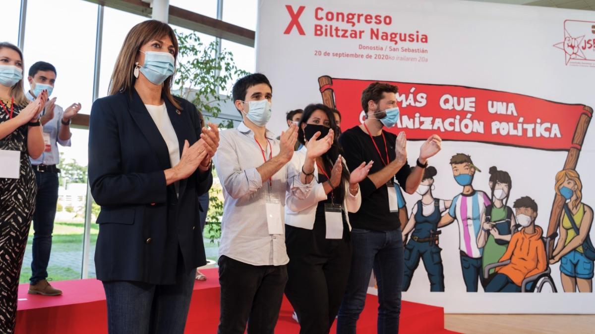 Las juventudes del PSOE vasco: «Ninguna necesidad aritmética justifica blanquear y tratar a Bildu como un partido más»