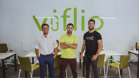 Los fundadores de Viflip. @Viflip