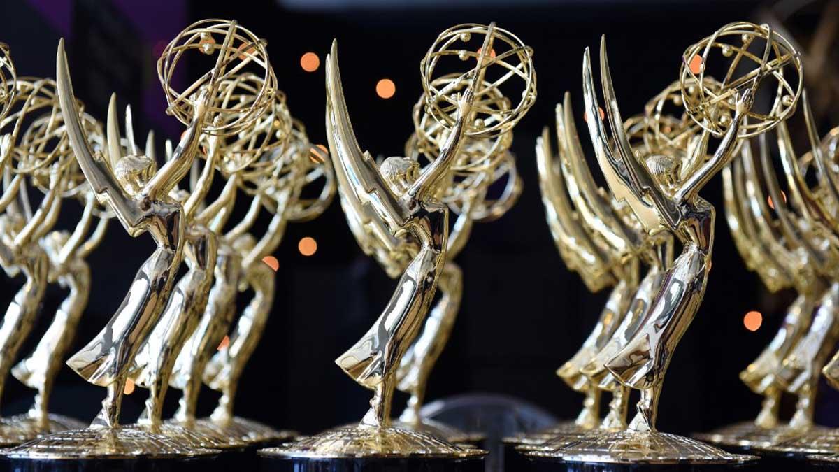Estatuillas que se entregan en los Premios Emmy. Foto: AFP