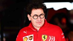 Mattia Binotto, director del equipo Ferrari. (AFP)