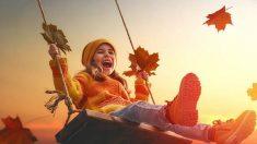 Las mejores frases para que los niños celebren el otoño