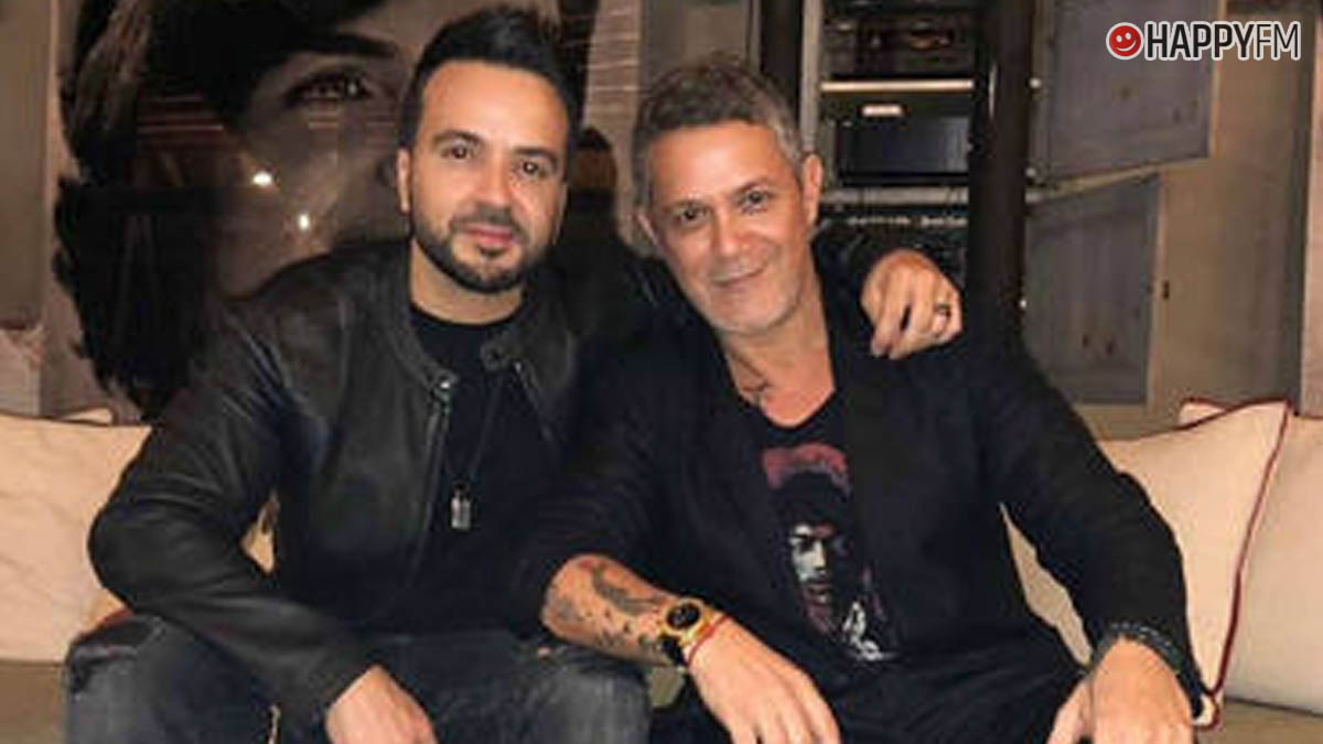 Luis Fonsi y Alejandro Sanz