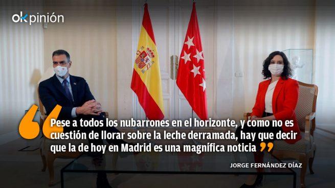Sánchez-Ayuso: ¿Un acuerdo para la esperanza?