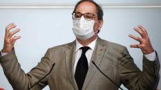 El presidente de la Generalitat, Quim Torra. Foto: EP