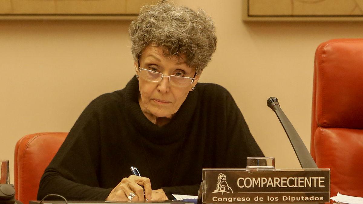 La Administradora Provisional Única de RTVE, Rosa María Mateo. (Foto: Europa Press)