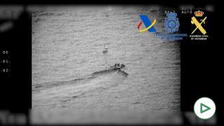 Interceptado velero con 200 kilos de hachís
