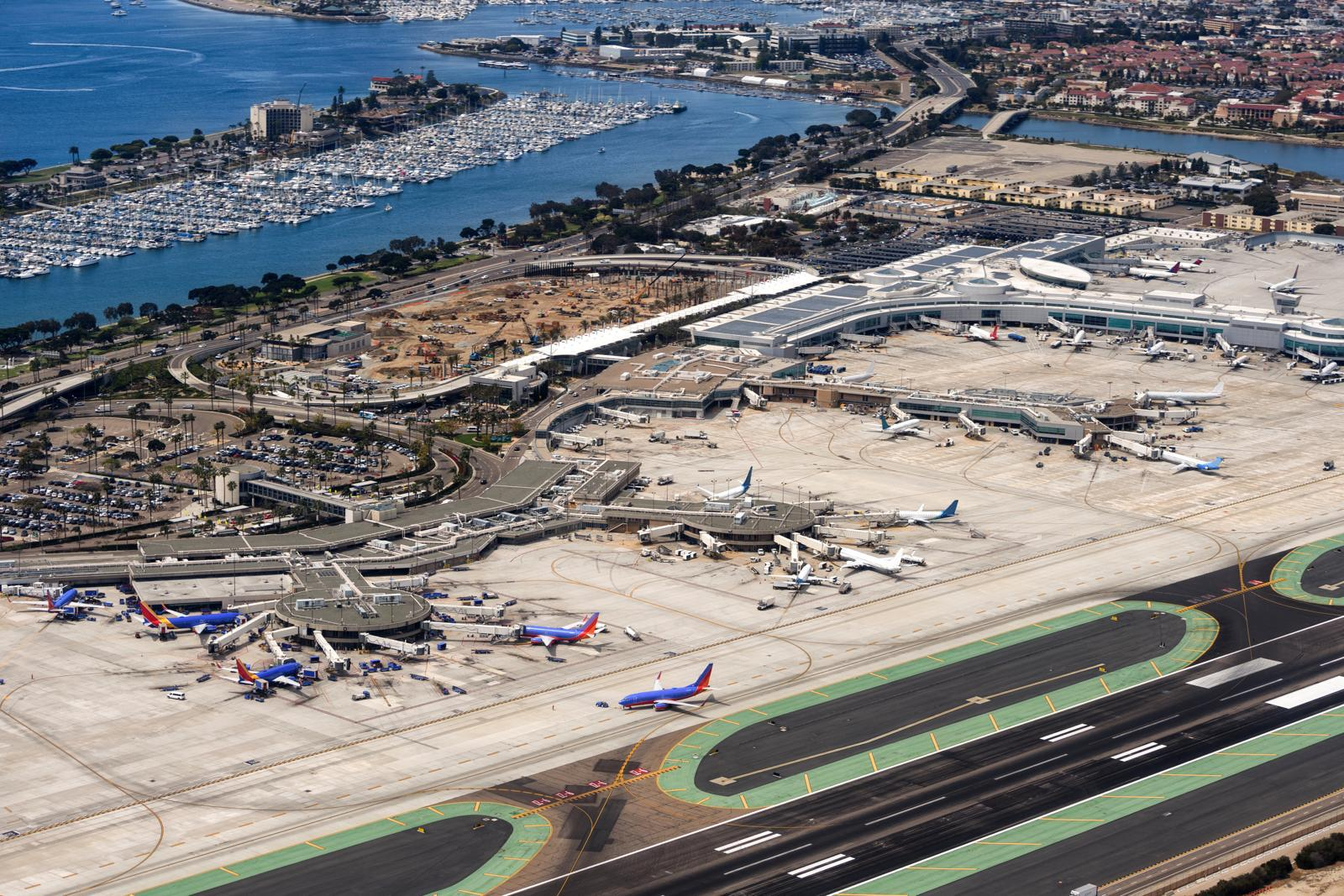 Aeropuerto de San Diego (EEUU).
