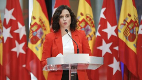 La presidenta de la Comunidad de Madrid, Isabel Díaz Ayuso. (Foto: Europa Press)