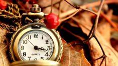 Reloj otoño