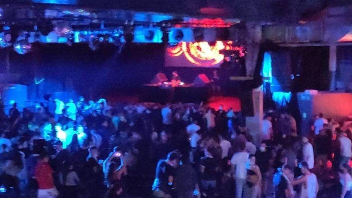 Sala la Riviera de Madrid durante la celebración de un concierto el pasado sábado