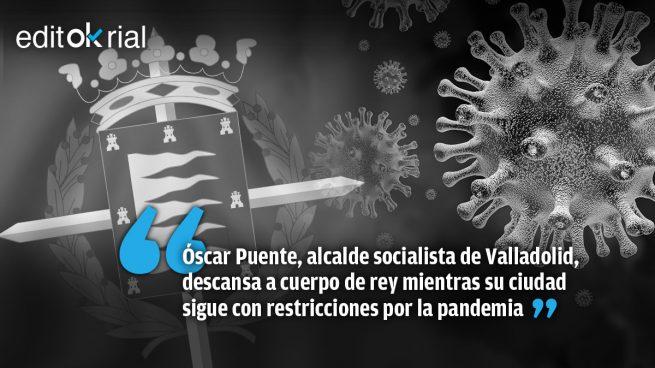 Valladolid en fase 1 y su alcalde de desfase