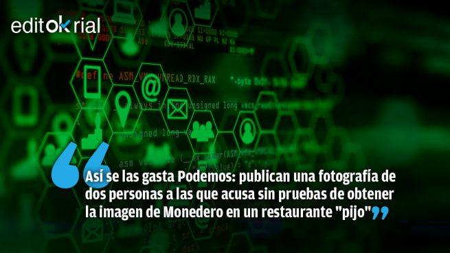 Matonismo en las redes: la «guerrilla», al auxilio de Monedero