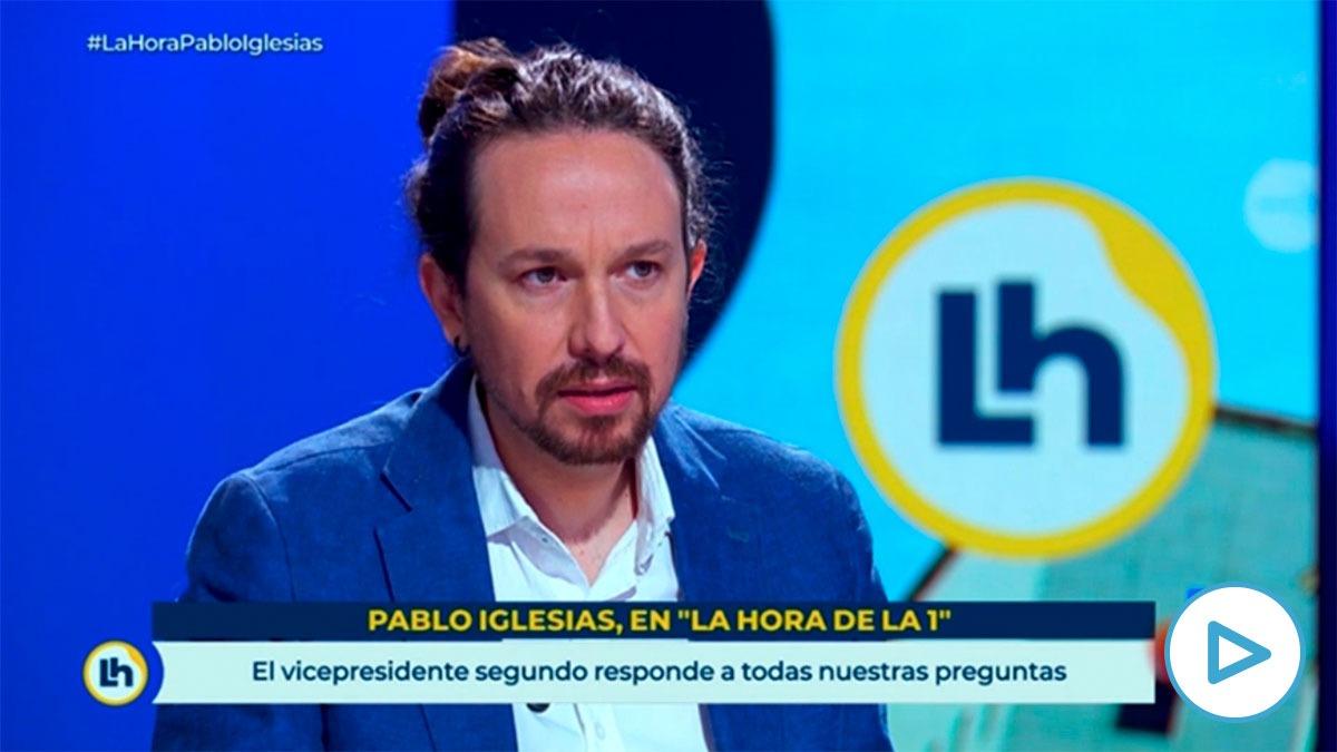 Iglesias este martes en TVE