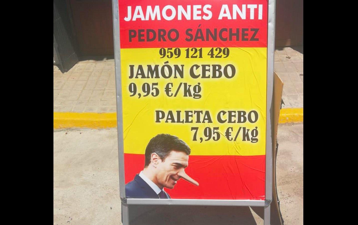 Jamones Anti Pedro Sánchez