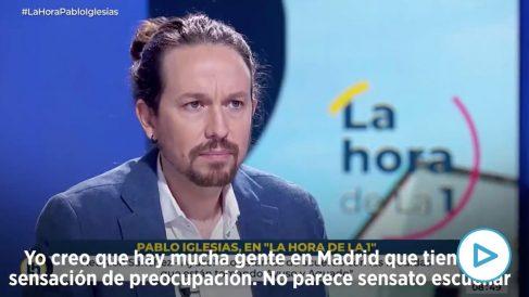 Pablo Iglesias desprecia a la Policía y al Ejército: «No les necesitamos para frenar la pandemia».
