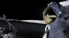 Recreación artística del regreso de la NASA a la Luna