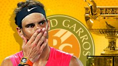 Rafa Nadal se ha embolsado 700.000 euros menos de premio en Roland Garros que el año pasado.