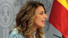 Yolanda Díaz, ministra de Trabajo. (Foto: Moncloa)