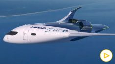 Así son los aviones 'cero emisiones' del futuro de Airbus