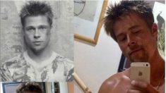 Instagram: Este albañil no puede ir a trabajar porque lo confunden con Brad Pitt