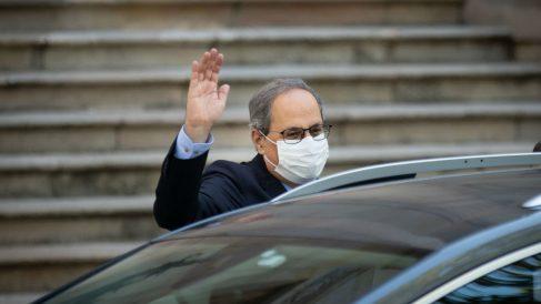 El presidente de la Generalitat, Quim Torra. (Foto: Europa Press)