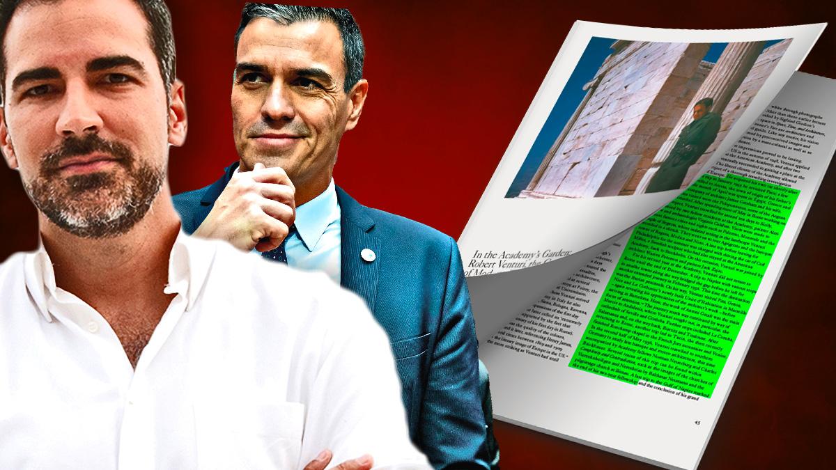 Ignacio Carnicero, Pedro Sánchez y el artículo de Martino Stierli plagiado.