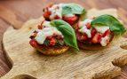 Receta de champiñones rellenos de tomates caramelizados