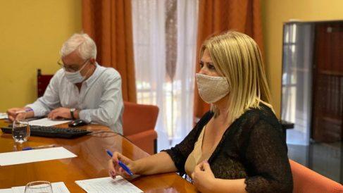 Mamen Sánchez, alcaldesa de Jerez (PSOE).