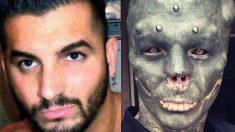 Instagram: Se opera para dejar de ser humano y parecer un alienígena