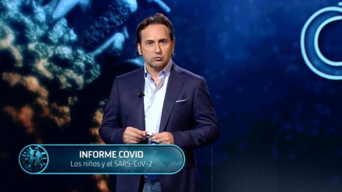 Iker Jiménez y su 'Informe Covid' en Telecinco