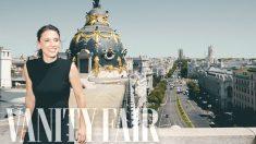 Irene Montero, ministra de Igualdad, posa para su entrevista en 'Vanity Fair'. (Foto: 'Vanity Fair')