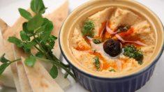 La mejor receta de hummus casero