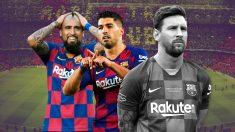 Messi ha perdido en apenas una semana a sus dos principales apoyo en el vestuario del Barça.