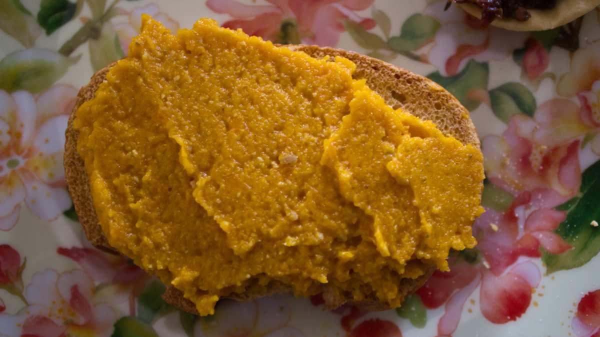 Receta de Paté de zanahoria