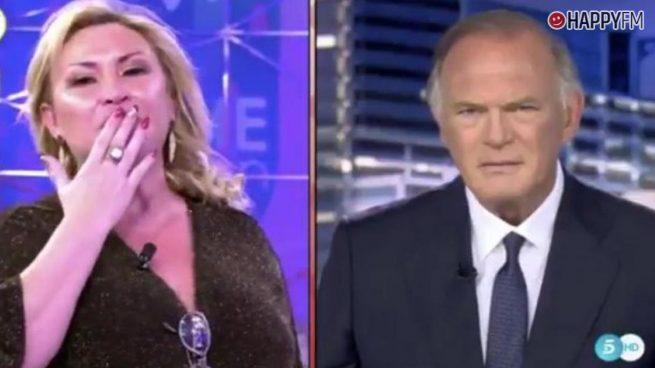 Pedro Piqueras y Raquel Mosquera