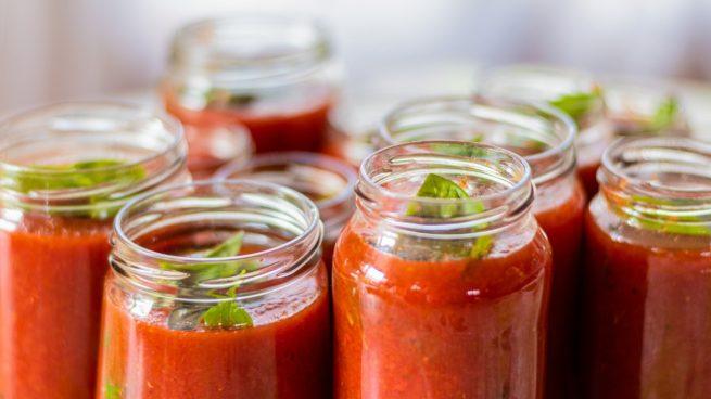 Receta de salsa de tomate de Chicote