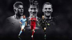 Robert Lewandoswki es el favorito en el UEFA Player del año. (UEFA)