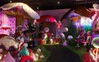 Así es Sweet Space en Madrid: laboratorio de helados y cascada de chupa chups