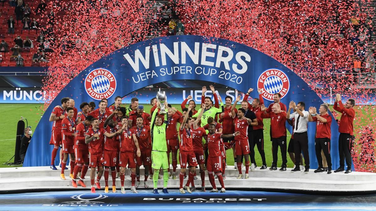 El Bayern levanta la Supercopa. (AFP)