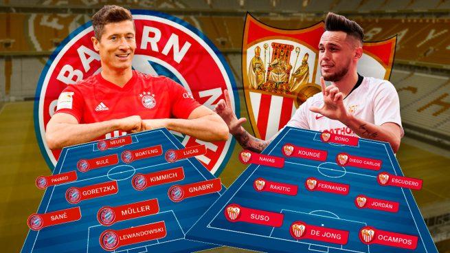 Supercopa de Europa: El Sevilla contra la máquina del Bayern