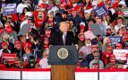 Donald Trump en un mitin electoral en Pittsburgh. Foto: EP