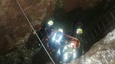 Málaga.- Sucesos.- Rescatada una joven de 18 años tras caer a un pozo de unos cinco metros en el Cerro de la Tortuga