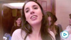 Vox retrata en un vídeo cómo «un poco de pasta basta» para convertir a Irene Montero «en casta».