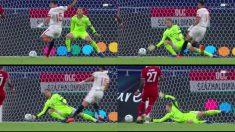 Neuer salva la oportunidad de En Neysri.