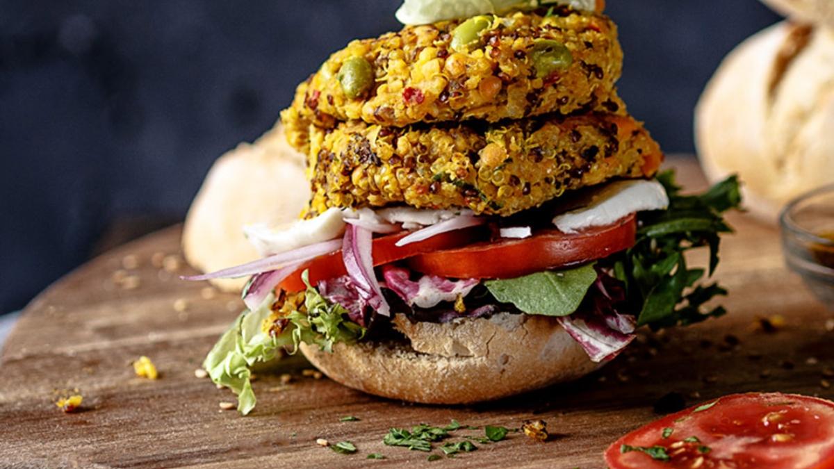 Receta de Mini hamburguesas vegetales
