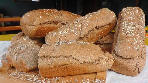 Receta de pan integral fermentado, sin levadura